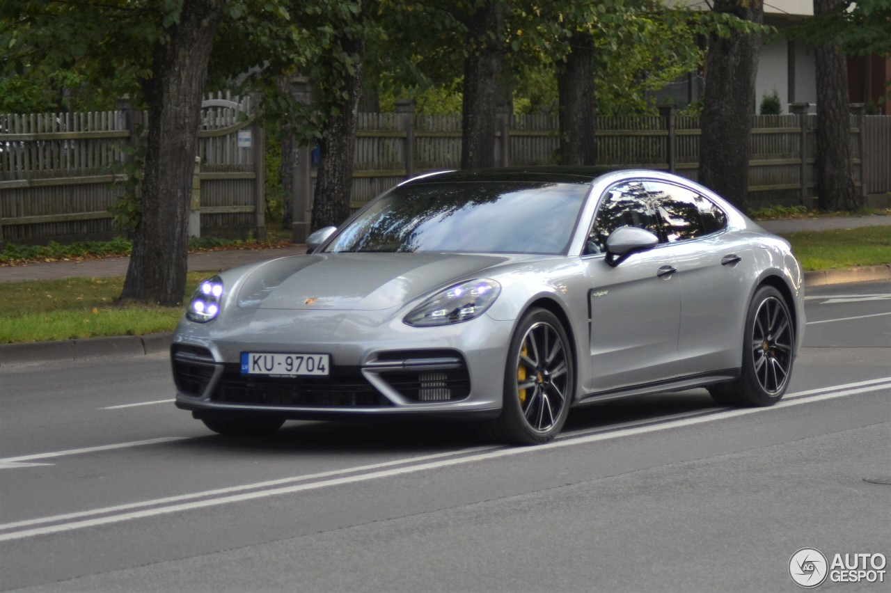 porsche 971 panamera turbo s e hybrid 29 august 2017 autogespot. Black Bedroom Furniture Sets. Home Design Ideas