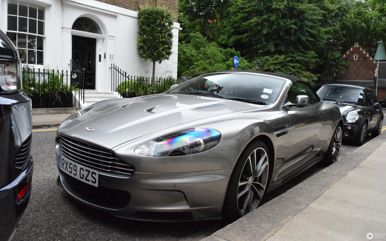 New Aston Martin DBS Superleggera Spied In Volante Flavor ...  |Aston Martin Dbs Volante