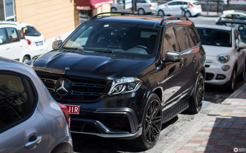 Mercedes Amg Brabus Gls 850 6 0 Biturbo 30 August 2017 Autogespot