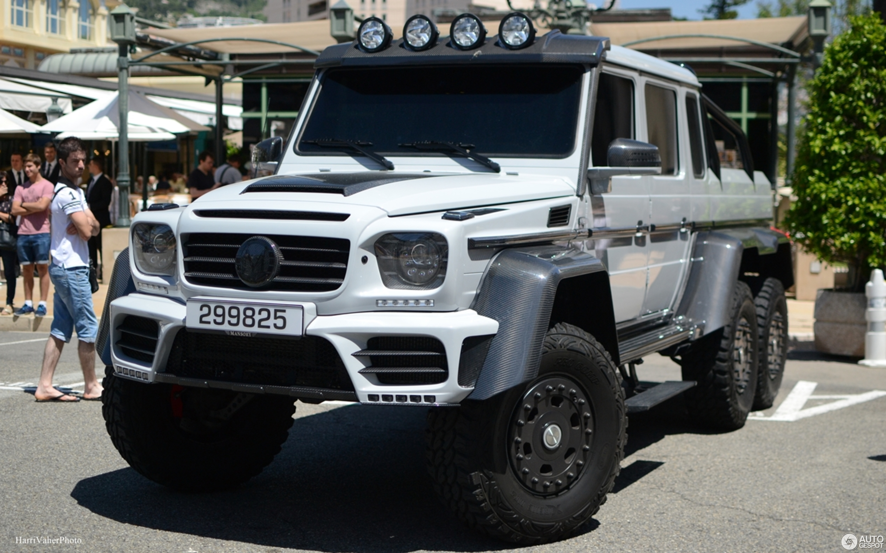 Mercedes Benz Mansory Gronos G 63 AMG 6x6 4 September 2017