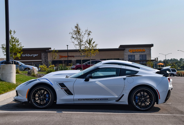 Chevrolet Corvette C7 Grand Sport Carbon 65 Edition