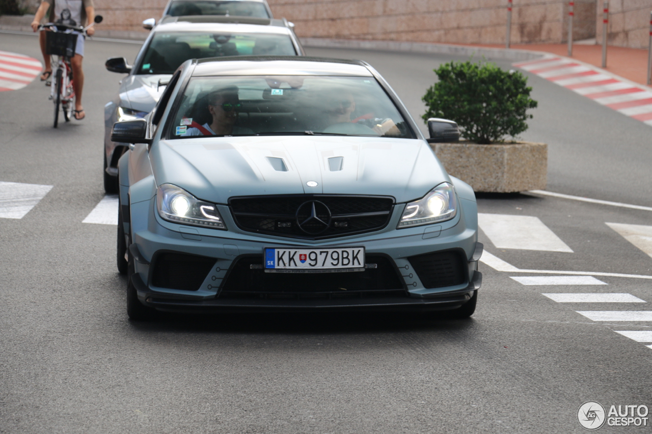Mercedes benz c 63 amg coup black series 5 september for 5 series mercedes benz