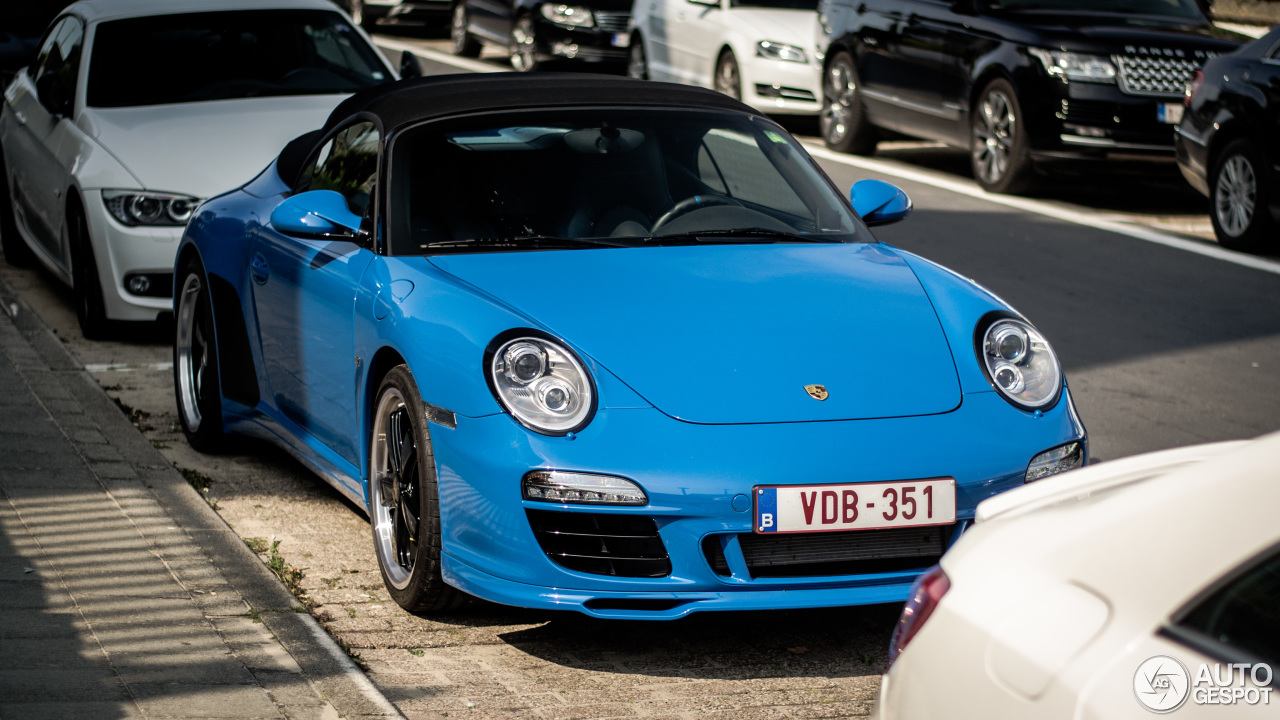 Porsche 997 Speedster 5 September 2017 Autogespot