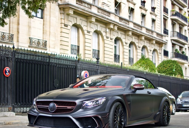Mercedes-AMG Mansory S 63 Cabriolet Black Edition