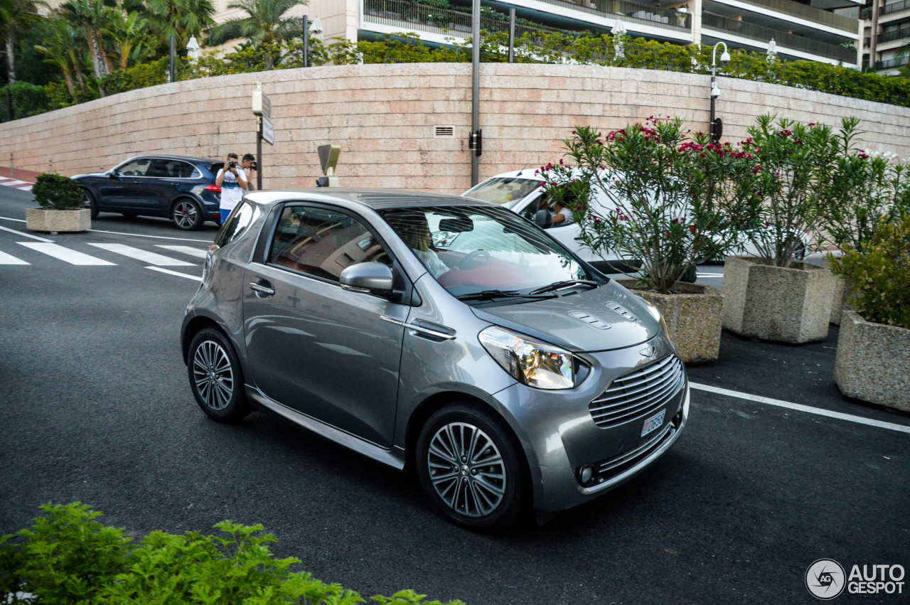 aston martin cygnet 8 september 2017 autogespot. Black Bedroom Furniture Sets. Home Design Ideas