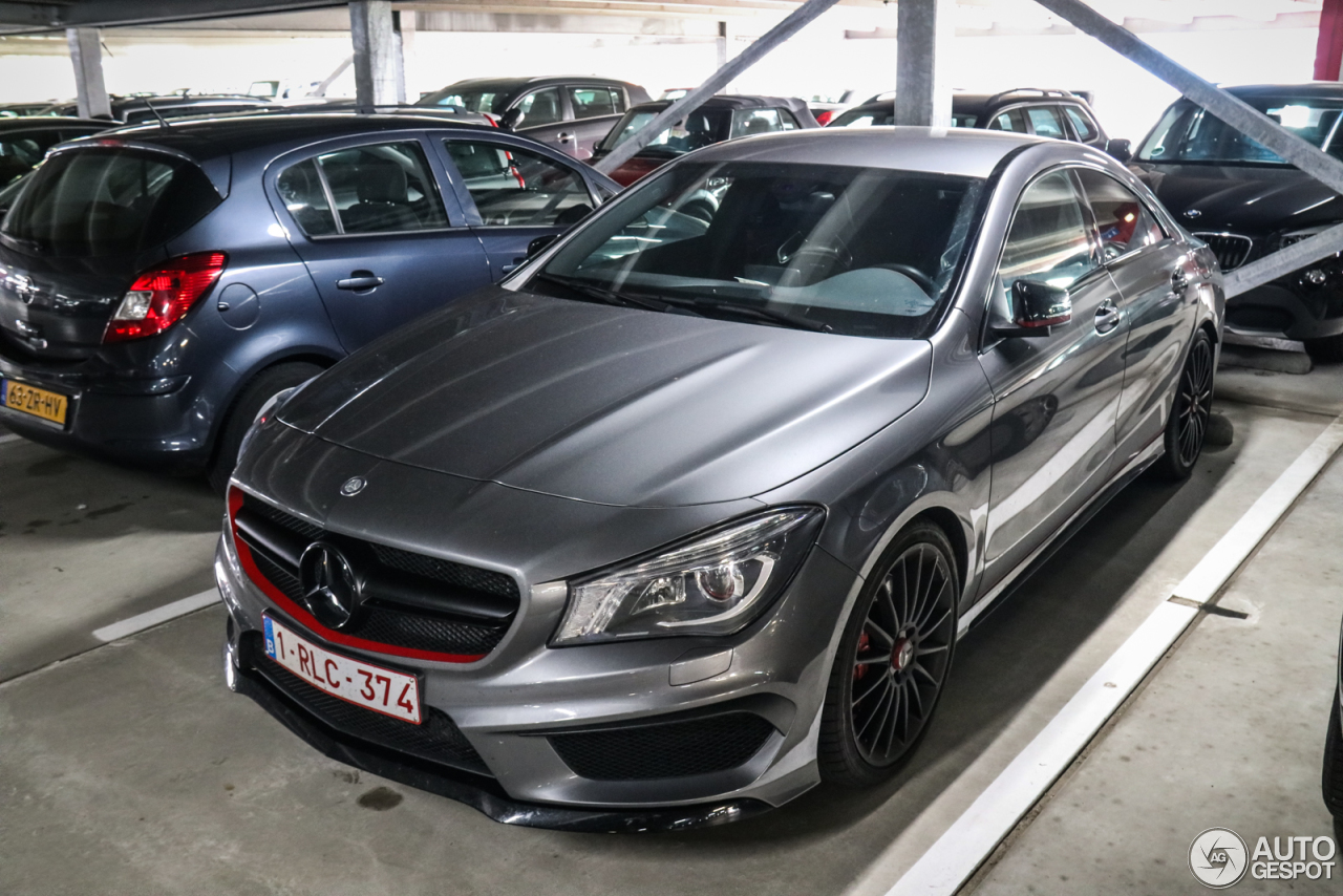 mercedes benz cla 45 amg edition 1 c117 9 september 2017 autogespot. Black Bedroom Furniture Sets. Home Design Ideas