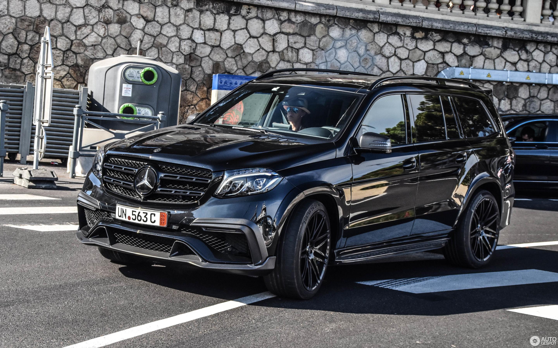 Mercedes Amg Brabus Gls 850 6 0 Biturbo 9 September 2017 Autogespot