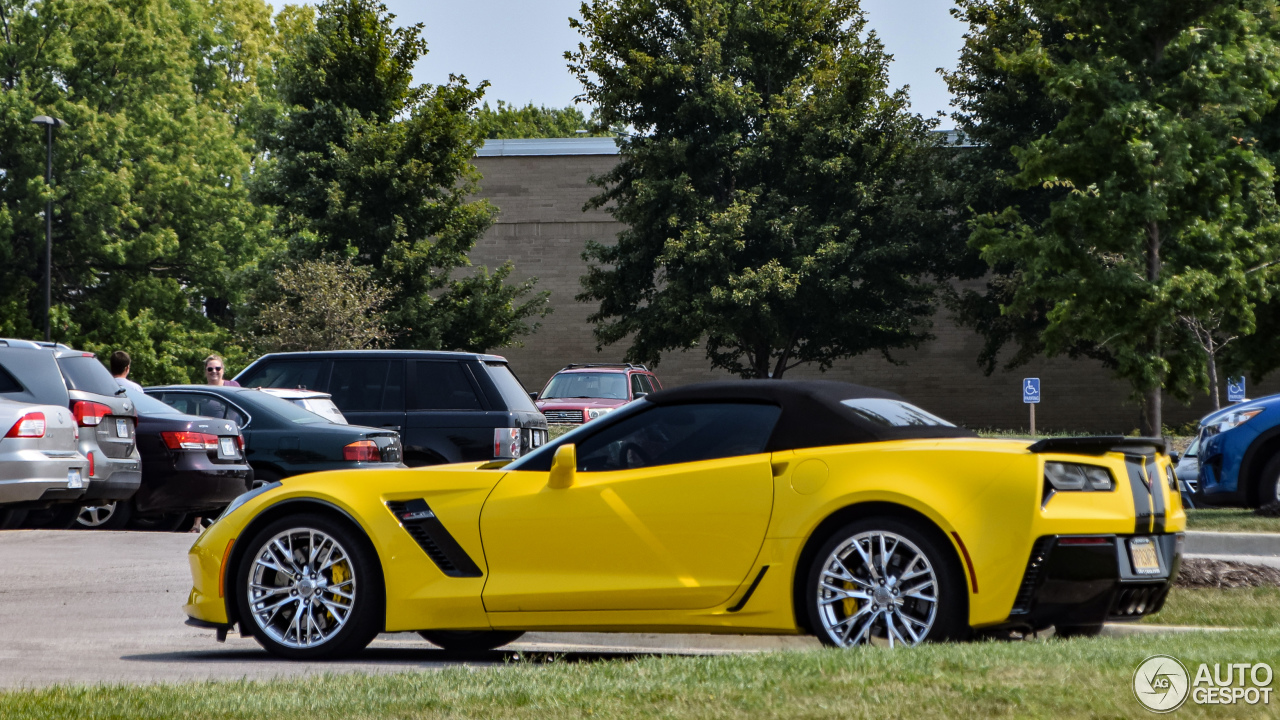 chevrolet corvette c7 z06 convertible 10 september 2017 autogespot. Black Bedroom Furniture Sets. Home Design Ideas