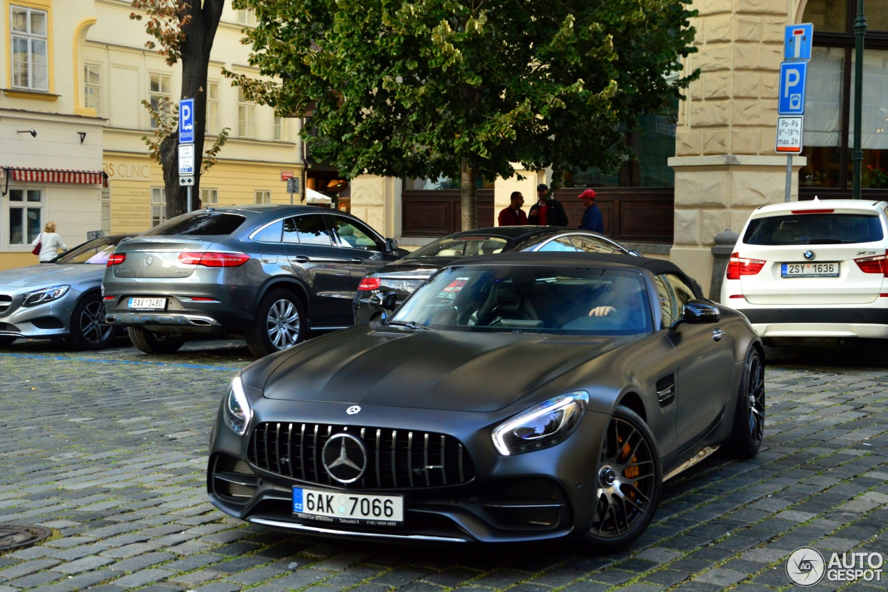 mercedes amg gt c roadster r190 edition 50 10 september. Black Bedroom Furniture Sets. Home Design Ideas