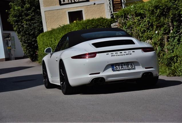 Porsche 991 Carrera GTS Cabriolet