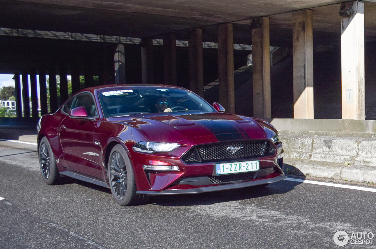 Ford Mustang GT 2018 - 12 September 2017 - Autogespot
