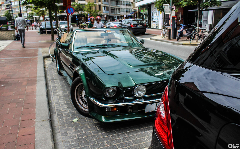 Aston Martin V Vantage Volante September - 1986 aston martin vantage
