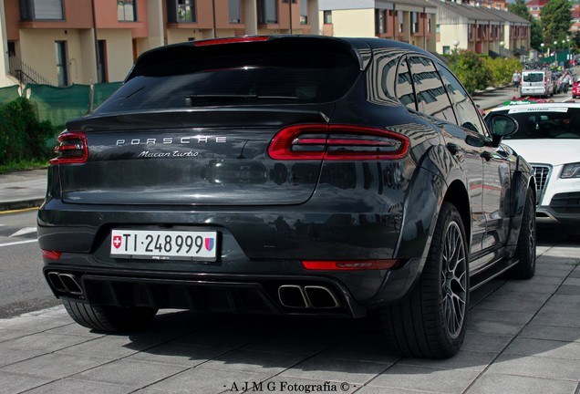 Porsche 95B Macan Turbo PD600M Prior Design