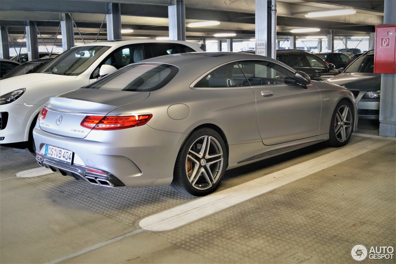 Mercedes benz s 63 amg coup c217 16 september 2017 for All types of mercedes benz cars