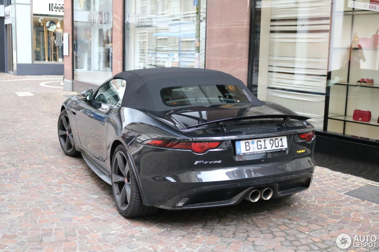 jaguar f type 400 sport convertible 17 september 2017 autogespot. Black Bedroom Furniture Sets. Home Design Ideas
