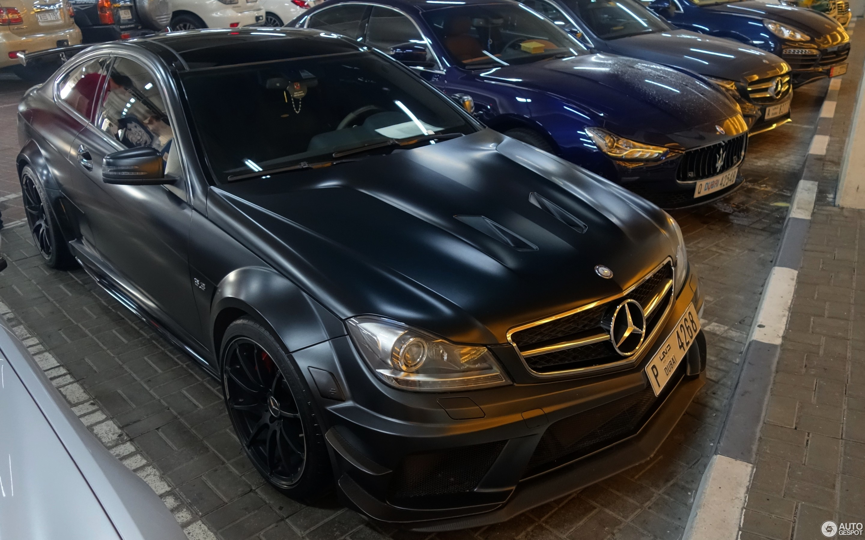 Mercedes benz c 63 amg coup black series 17 september for C series mercedes benz