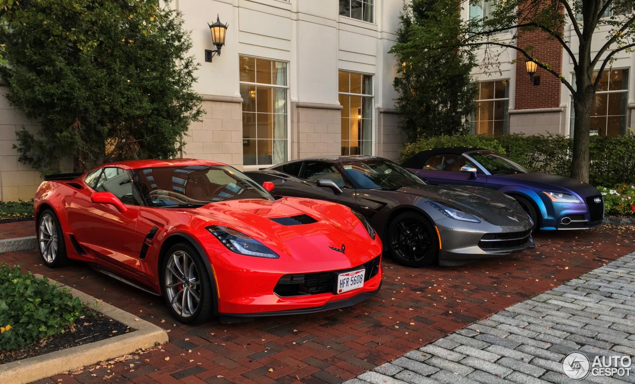 chevrolet corvette c7 grand sport 18 september 2017 autogespot. Black Bedroom Furniture Sets. Home Design Ideas