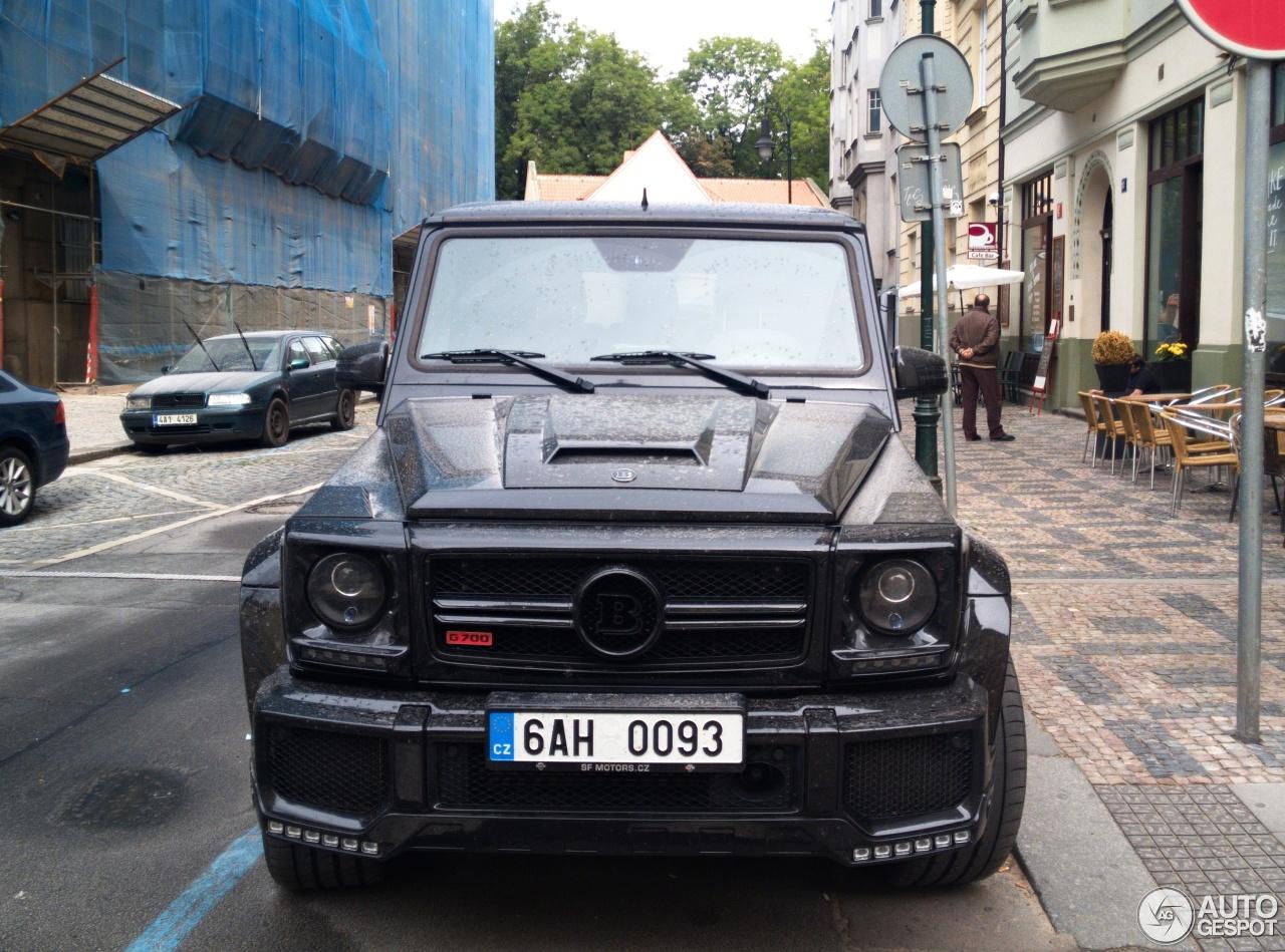 Mercedes Benz Brabus G 700 Widestar 18 September 2017