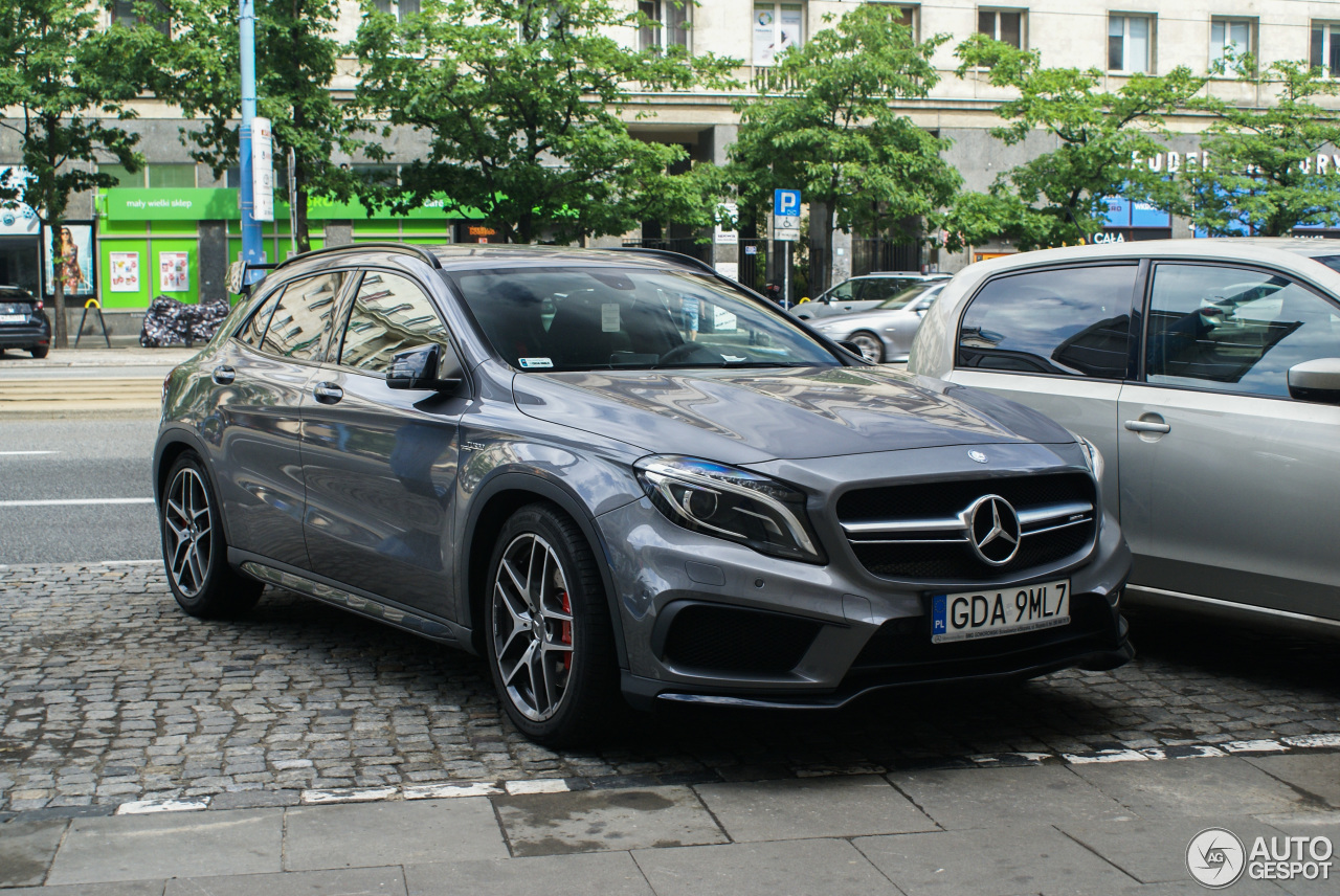 mercedes benz gla 45 amg x156 18 september 2017 autogespot. Black Bedroom Furniture Sets. Home Design Ideas