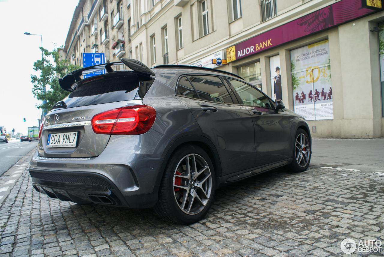 Mercedes benz gla 45 amg x156 18 wrzesie 2017 autogespot for 2017 mercedes benz amg gla 45