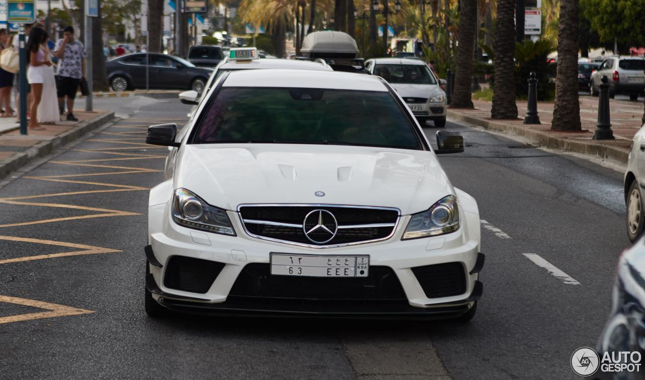 Mercedes benz c 63 amg coup black series 19 september for C series mercedes benz