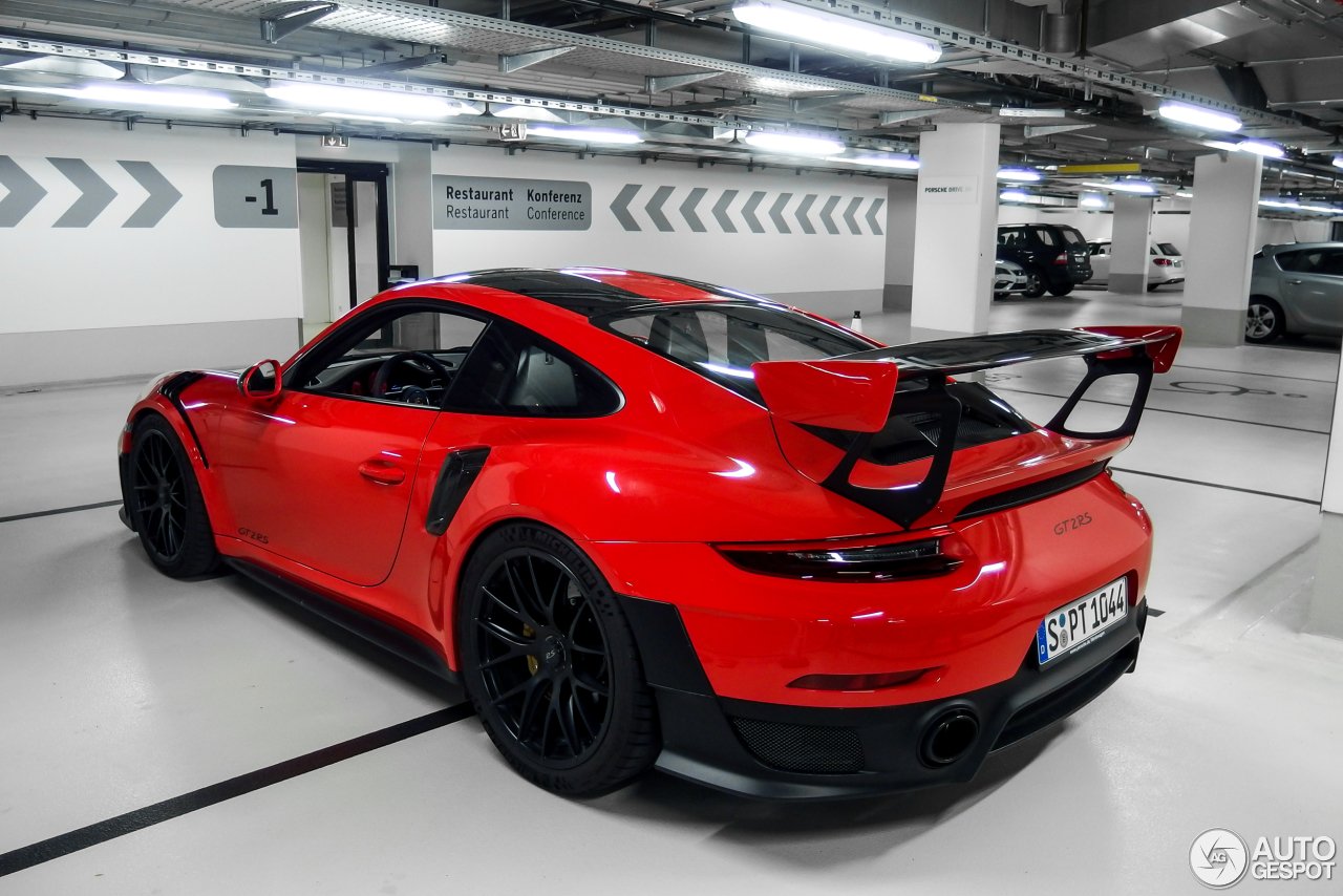 porsche 991 gt2 rs weissach package 19 september 2017 autogespot. Black Bedroom Furniture Sets. Home Design Ideas