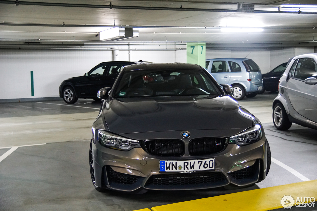 8 I BMW M4 F82 Coupe 2017