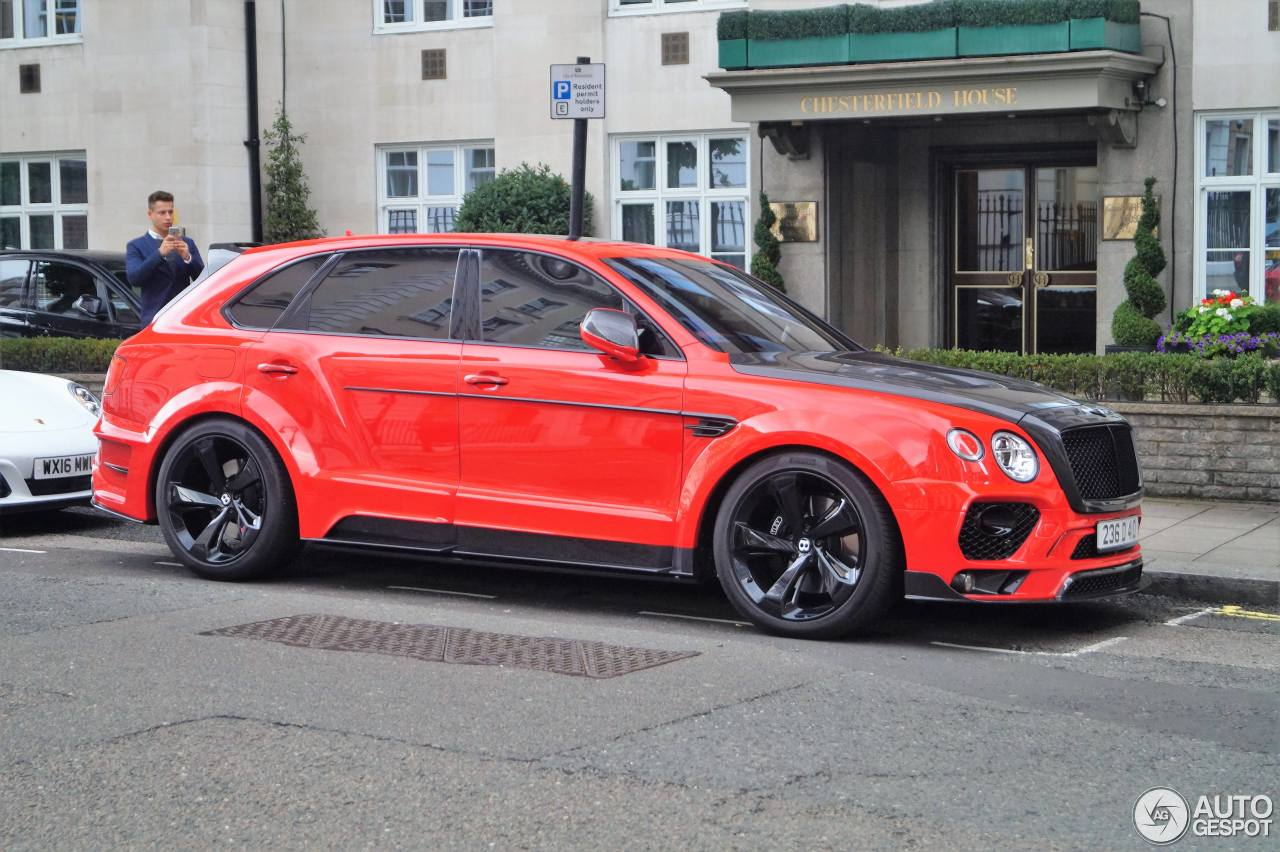 Bentley Mansory Bentayga 22 September 2017 Autogespot