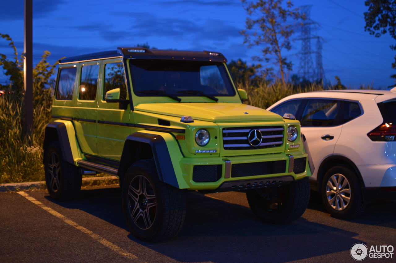 Mercedes benz g 550 4x4 22 september 2017 autogespot for All types of mercedes benz cars