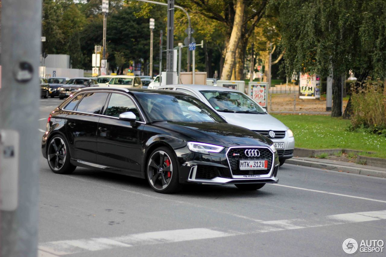 audi rs3 sportback 8v 2018 23 september 2017 autogespot. Black Bedroom Furniture Sets. Home Design Ideas
