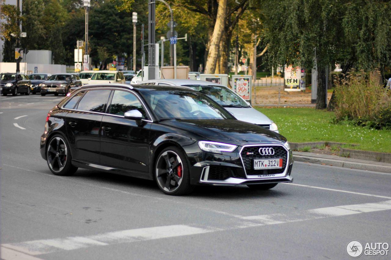 Audi RS3 Sportback 8V 2018 - 23 September 2017 - Autogespot