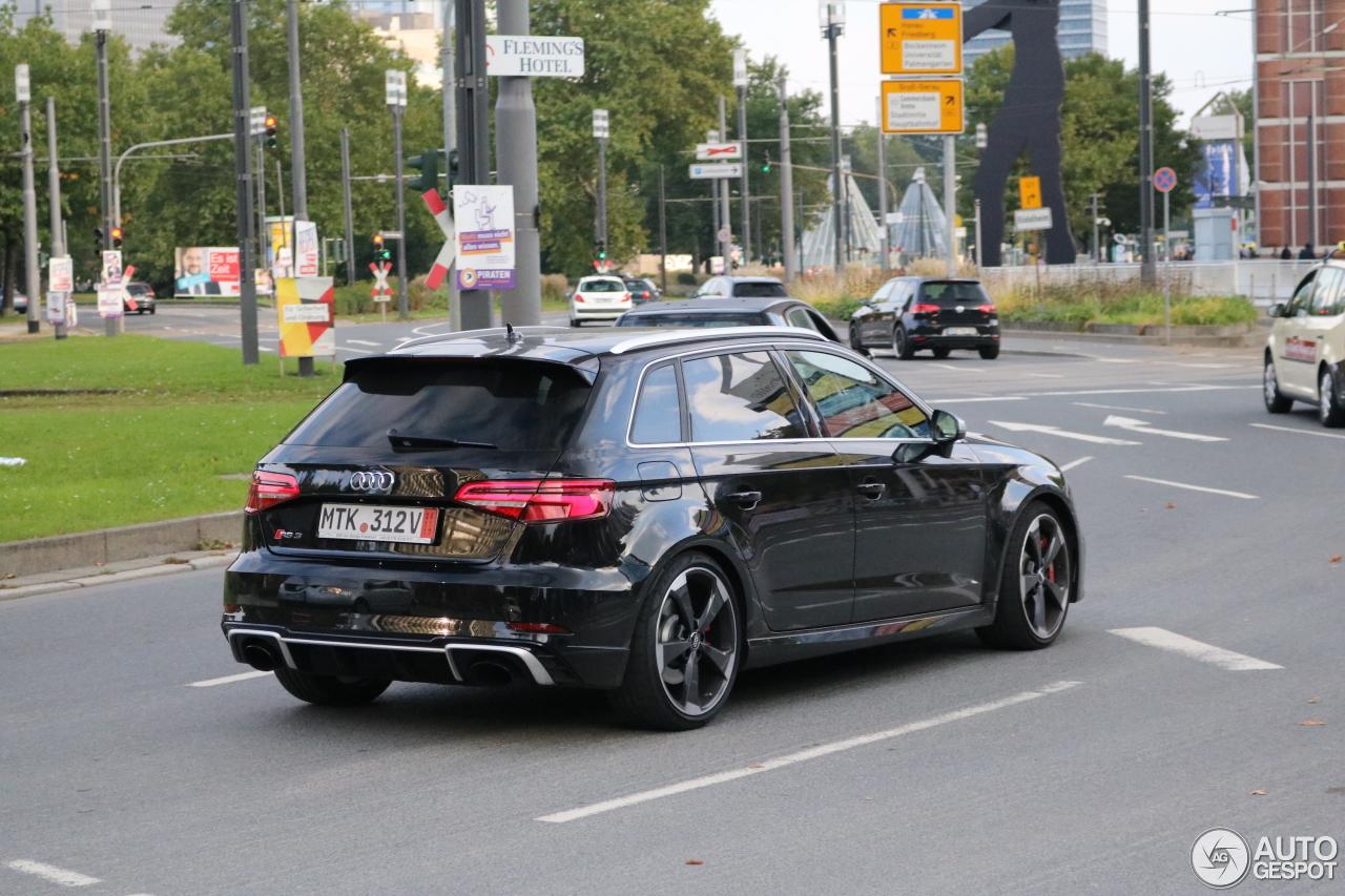 Audi RS3 Sportback 8V 2018 - 24 September 2017 - Autogespot