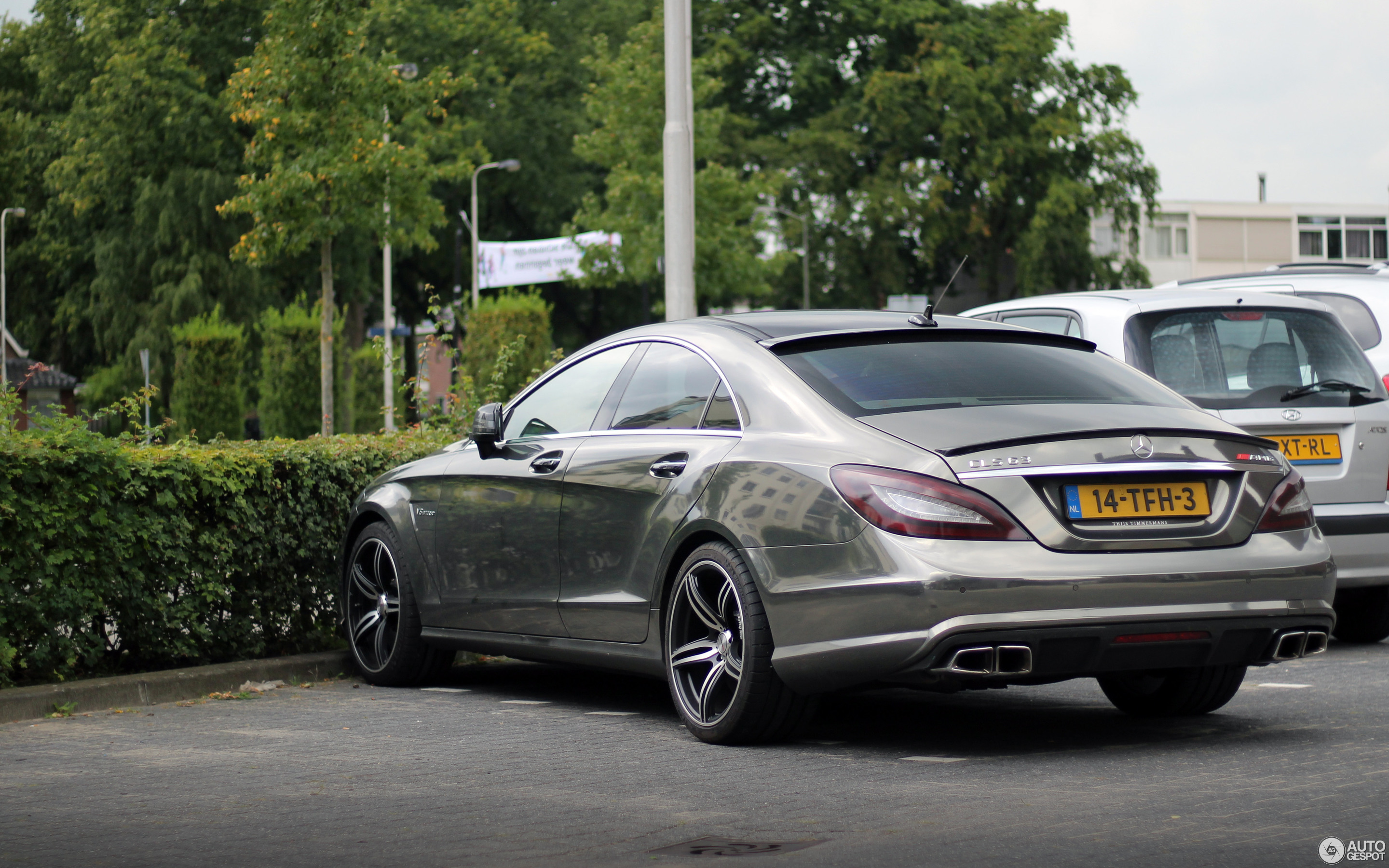 Mercedes Benz CLS 63 AMG C218 26 September 2017 Autogespot