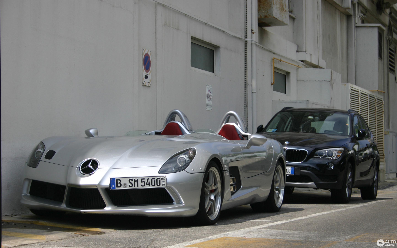 Mercedes Benz SLR McLaren Stirling Moss