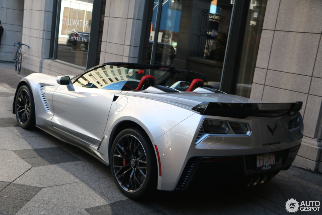 Chevrolet Corvette C7 Z06 Convertible 27 September 2017