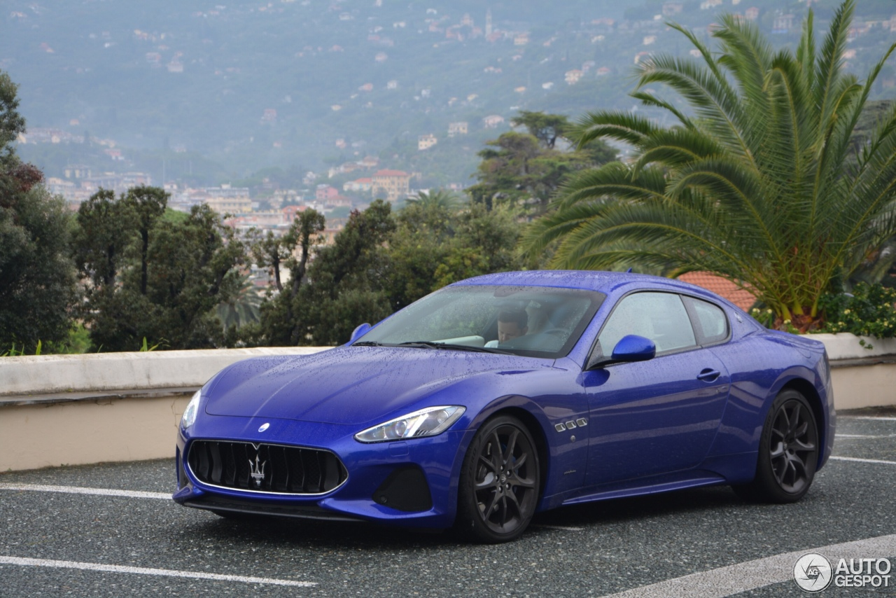 Maserati Granturismo Sport 2018 1 October 2017 Autogespot