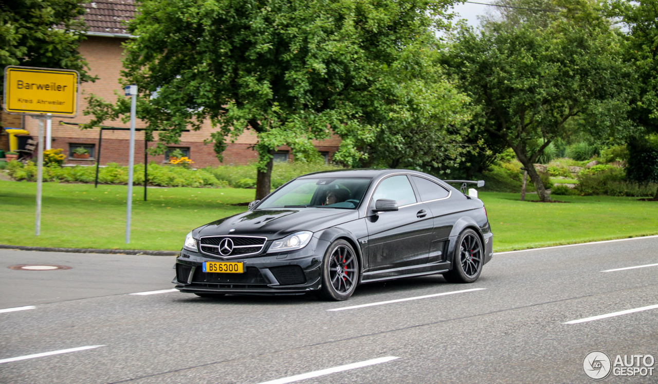 Mercedes benz c 63 amg coup black series 2 october 2017 for 5 series mercedes benz