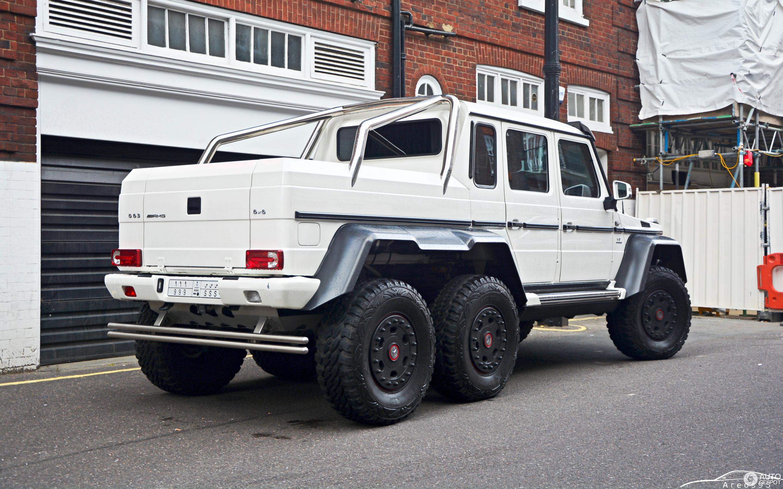 Mercedes Benz G 63 AMG 6x6