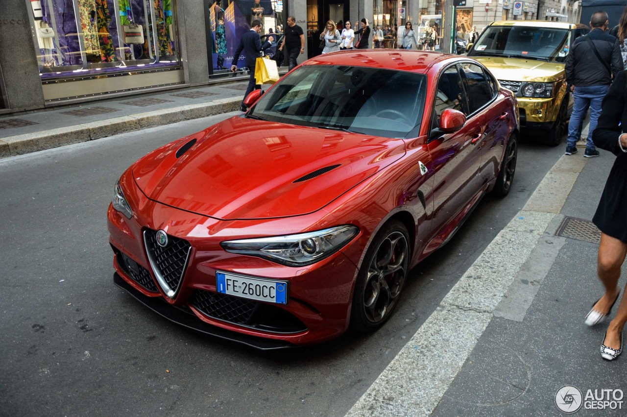 alfa romeo giulia quadrifoglio 4 october 2017 autogespot. Black Bedroom Furniture Sets. Home Design Ideas