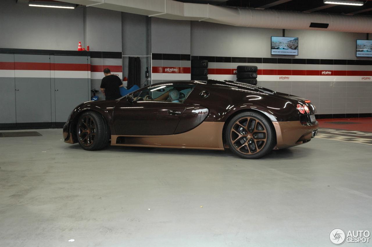 bugatti veyron 16 4 grand sport vitesse rembrandt bugatti 4 oktober 2017 autogespot. Black Bedroom Furniture Sets. Home Design Ideas