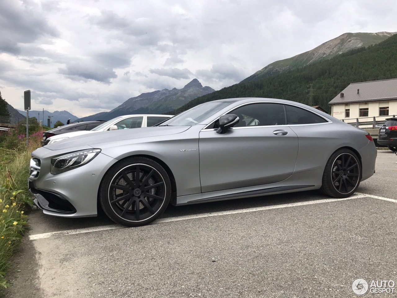 Mercedes Benz S 63 Amg Coup C217 4 October 2017