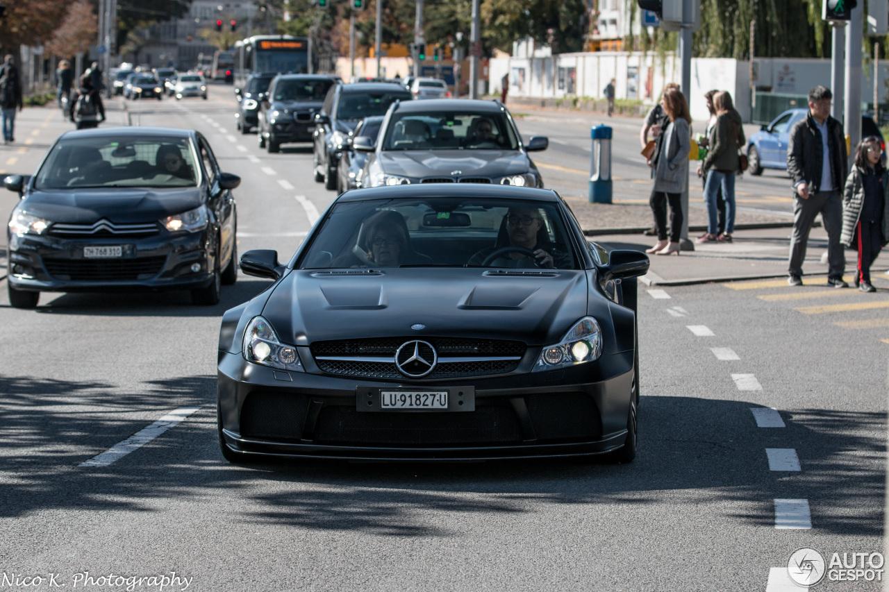 Mercedes benz sl 65 amg black series 7 oktober 2017 for 5 series mercedes benz