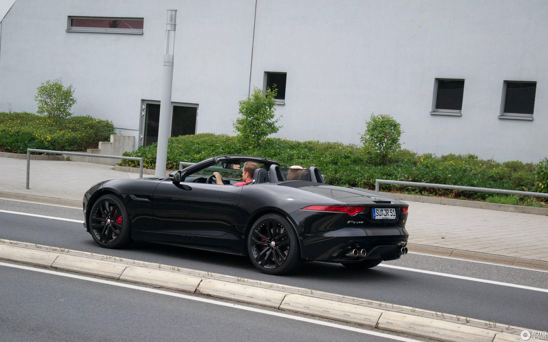 Jaguar F Type R Convertible 7 October 2017 Autogespot