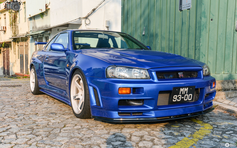Nissan Skyline R34 GT R V Spec II