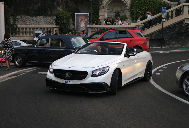 Mercedes-AMG Brabus S B63-650 Convertible A217