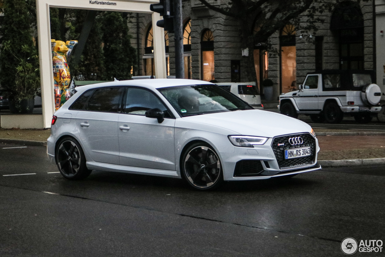 audi rs3 sportback 8v 2018 10 octubre 2017 autogespot. Black Bedroom Furniture Sets. Home Design Ideas