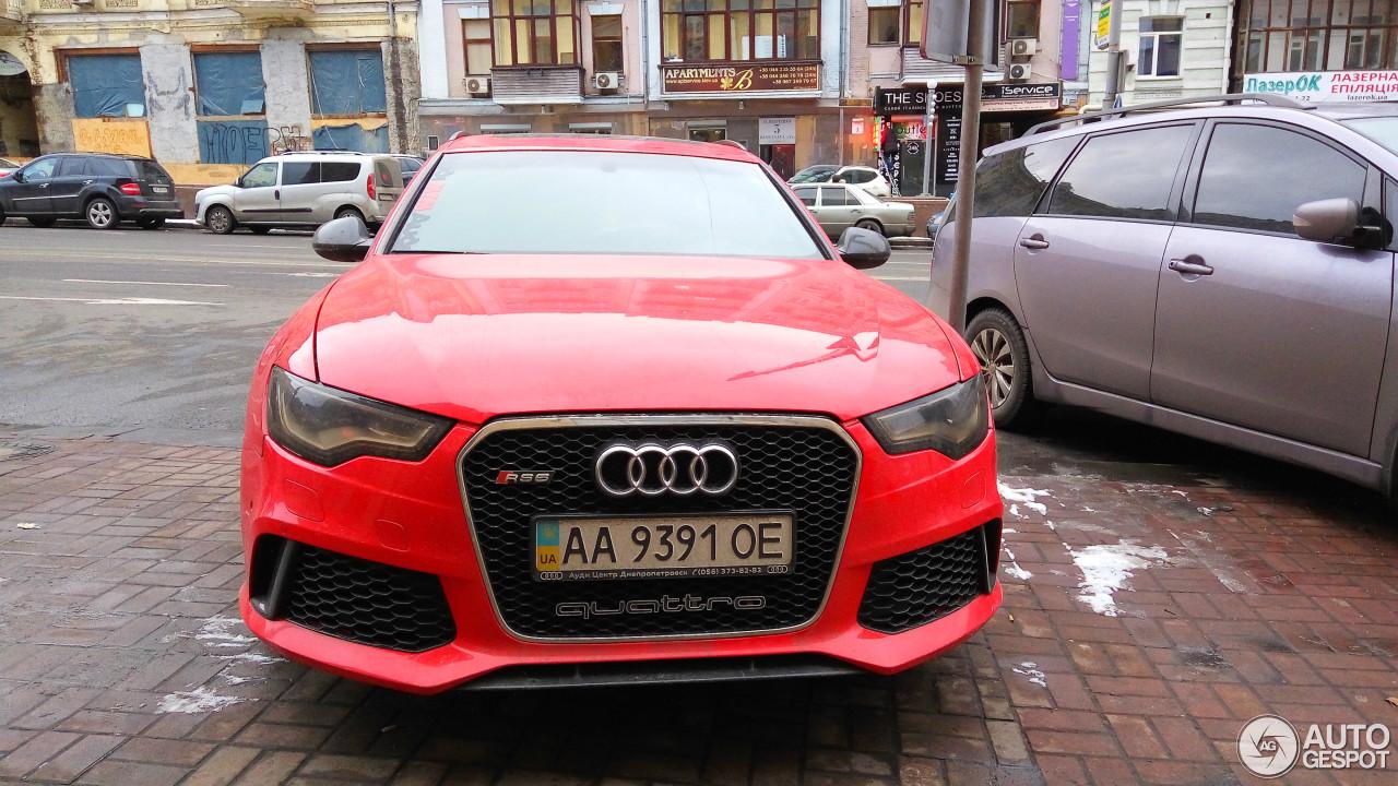 Audi RS6 Avant C6 2
