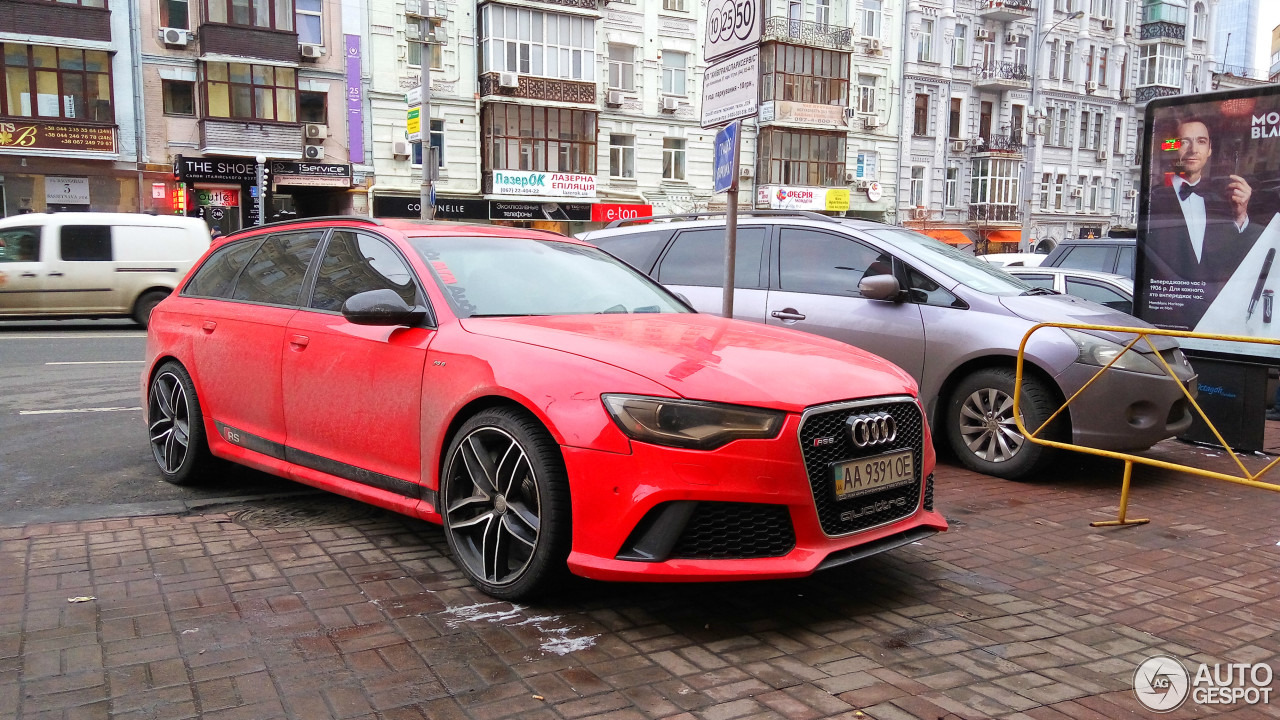 Audi RS6 Avant C6 4