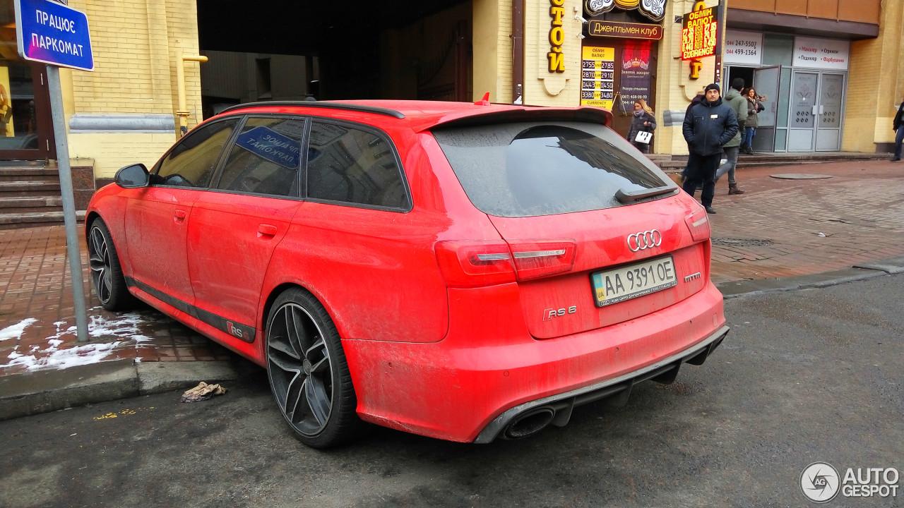 Audi RS6 Avant C6 7