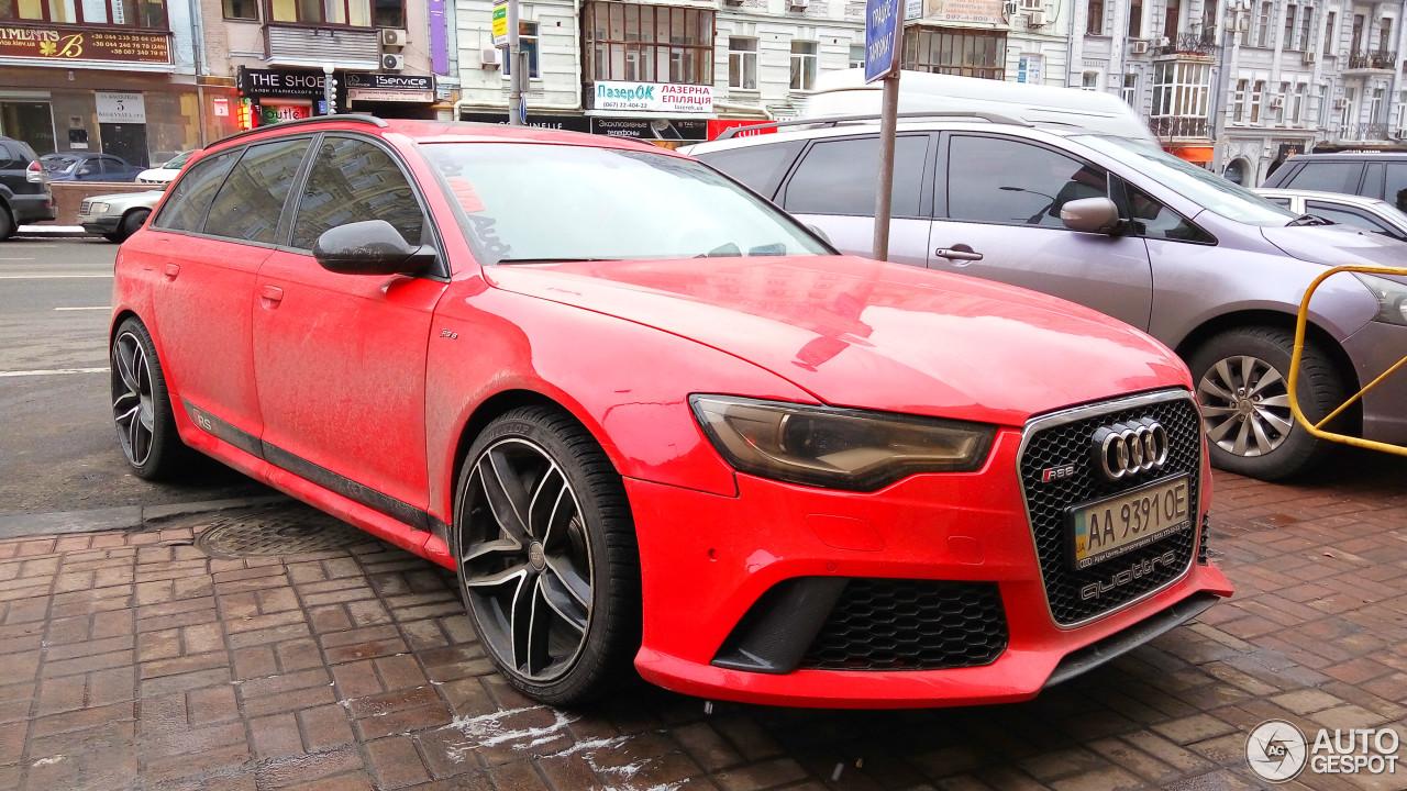 Audi RS6 Avant C6 8
